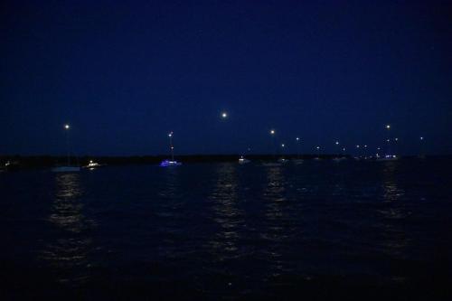 No Name anchorage at night