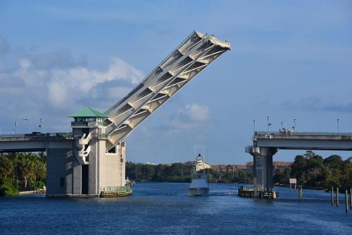 Large drawbridge