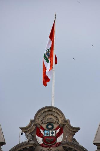 National Flag on the Government Palace
