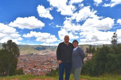Overlooking Cuzco