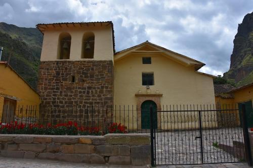 Spanish church at Ollantaytambo