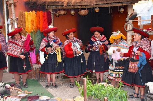 Quechua village of Chinchero