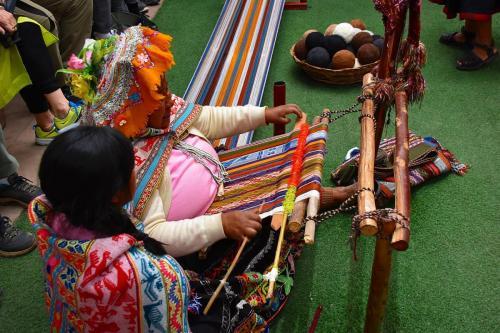 The srt of weaving