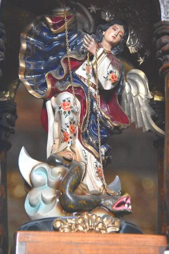 Winged Virgen de Quito