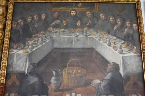 Santo Domingo representation of the Last Supper