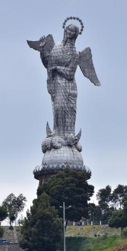 Winged Virgin of Quito