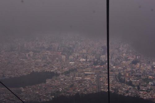 Quito from Pichincha Volcano