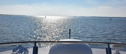 Exiting Cumberland Sound to run outside