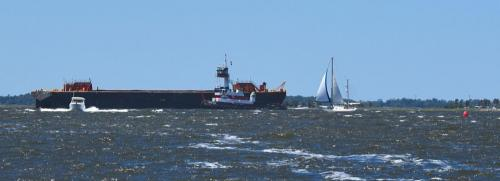Sailing, power boating and dredging