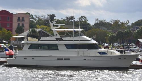 Neighbor's boat Joie de Vie