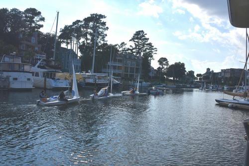 South Carolina Yacht Club sailing