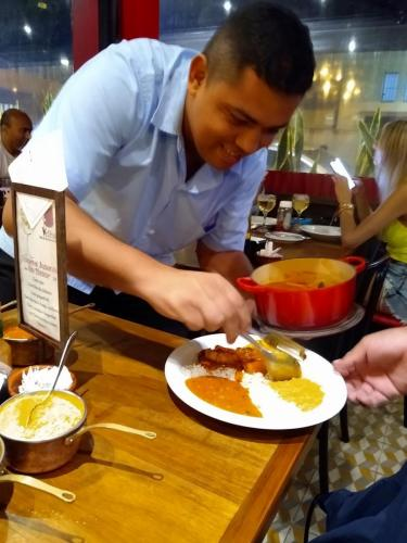 Dishing the fish stew
