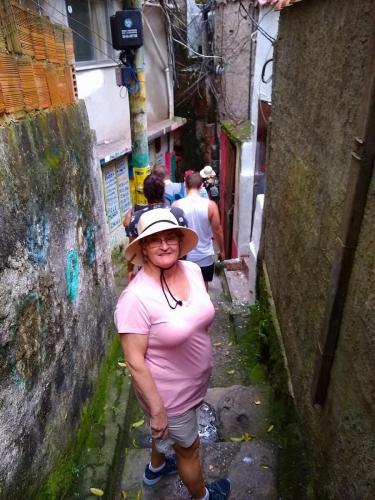 Walking the flavela