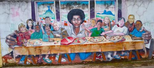 Flavela mural