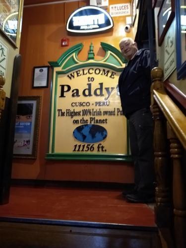 Paddy's Irish Pub, Cuzco