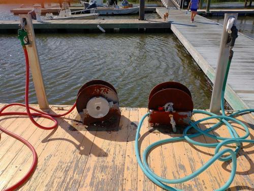 Sunbury fuel dock