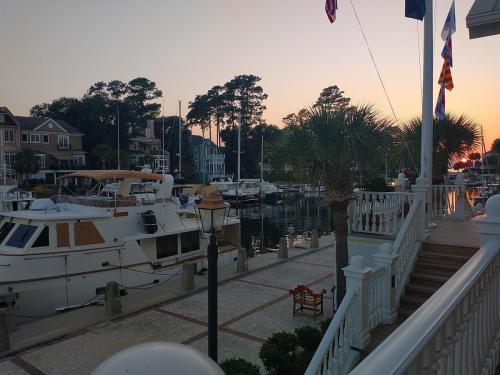 Dinner view at South Carolina Yacht Club