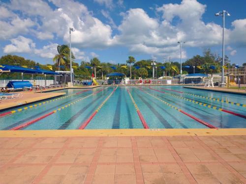 Plantation swimming pool